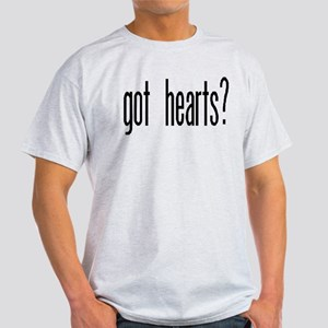 """Got Hearts?"" Light T-Shirt"
