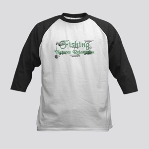 Natures Relaxation Kids Baseball Jersey