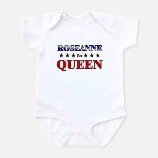 ROSEANNE for queen Infant Bodysuit