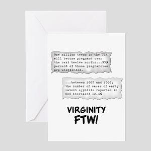 Virginity FTW! Greeting Card
