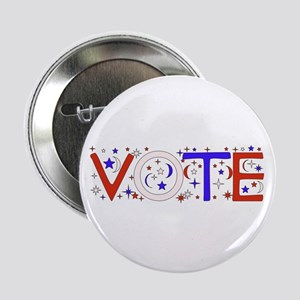 "Get Out The Vote 2008 2.25"" Button"
