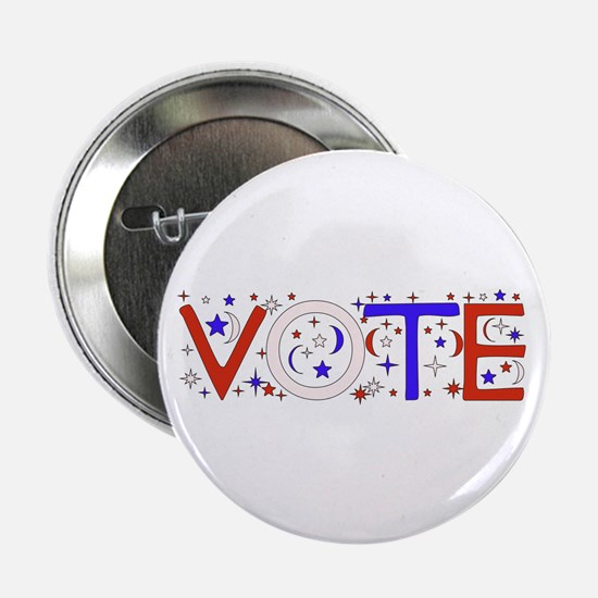 """Get Out The Vote 2008 2.25"""" Button"""