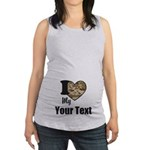 Personalize Camo Heart Tank Top