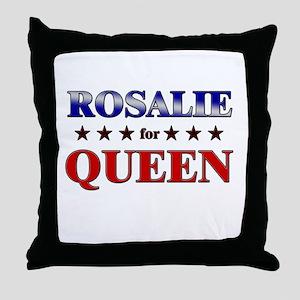 ROSALIE for queen Throw Pillow