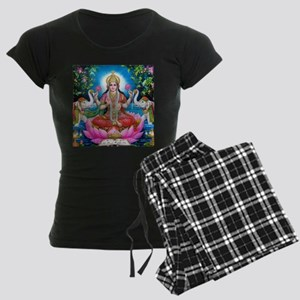 Lakshmi Goddess of Wealth, Happiness, and Pajamas