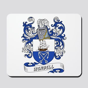 Wendell Coat of Arms Mousepad