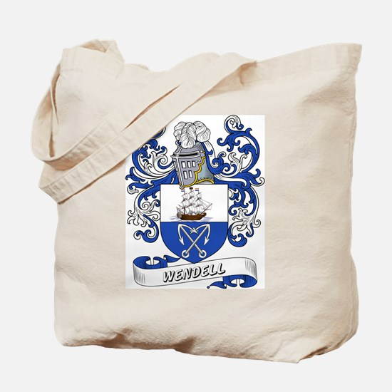 Wendell Coat of Arms Tote Bag