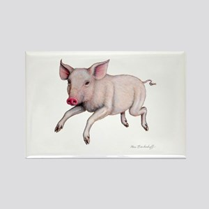 Pig ~ Rectangle Magnet