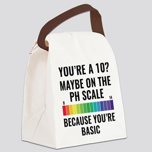 You're A 10? Canvas Lunch Bag