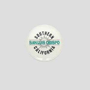 San Luis Obispo CA Mini Button