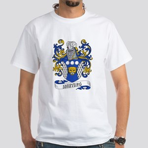 Whiting Coat of Arms White T-Shirt