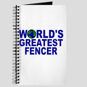 World's Greatest Fencer Journal