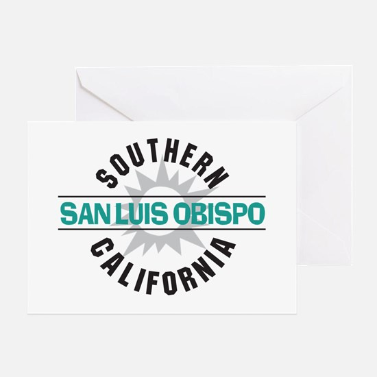 San Luis Obispo CA Greeting Card