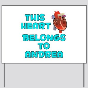 This Heart: Andrea (B) Yard Sign