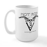 HOT ROD V8 Large Mug