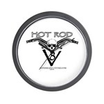 HOT ROD V8 Wall Clock