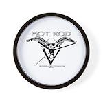 HOT ROD V8 Wall Clock
