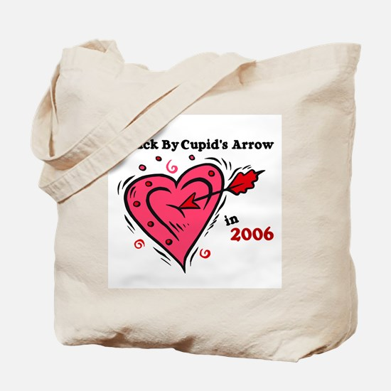 Struck By Cupid's Arrow 1 (2006) Tote Bag