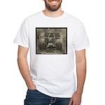 REAR VIEW White T-Shirt