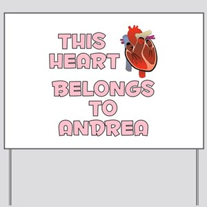 This Heart: Andrea (C) Yard Sign