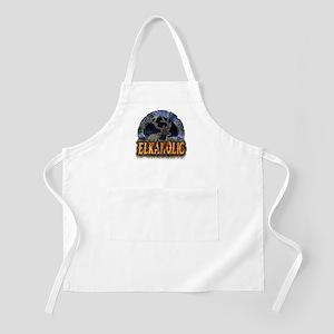 Elkaholic Elk t-shirts and gi BBQ Apron