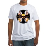 Maltese Cross Fitted T-Shirt