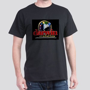 Darwin Black T-Shirt