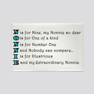 3-Nonnie Magnets