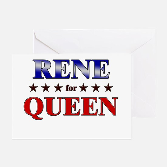 RENE for queen Greeting Card