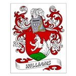 Williams Coat of Arms Small Poster