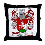 Williams Coat of Arms Throw Pillow