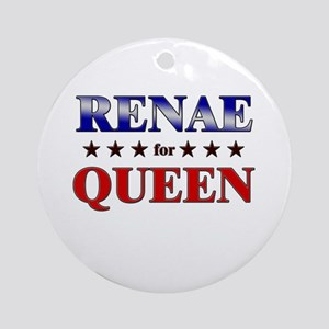 RENAE for queen Ornament (Round)