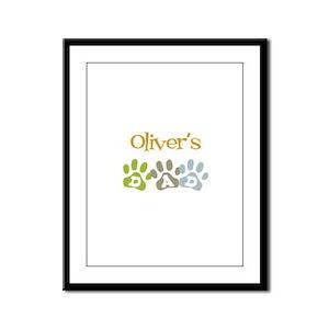 Oliver's Dad Framed Panel Print
