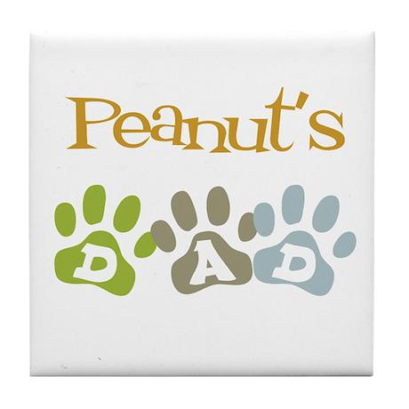 Peanut's Dad Tile Coaster