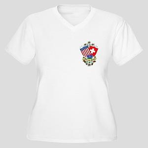 Swiss Shop Women's Plus Size V-Neck T-Shirt