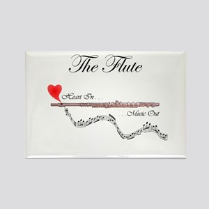 'The Flute' Rectangle Magnet