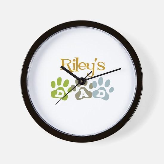 Riley's Dad Wall Clock