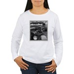 BURN OUT CHAMP Women's Long Sleeve T-Shirt