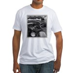 BURN OUT CHAMP Fitted T-Shirt