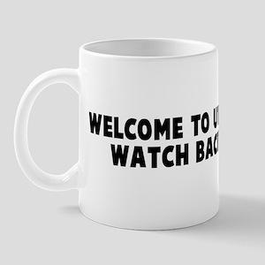 Welcome to utah set your watc Mug