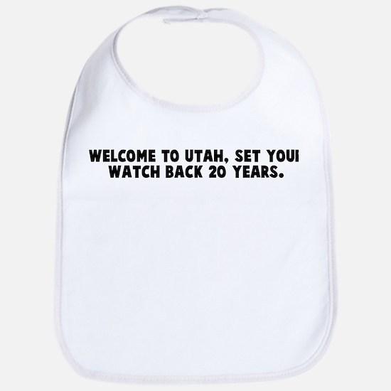 Welcome to utah set your watc Bib