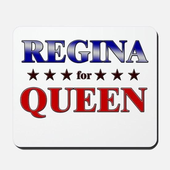 REGINA for queen Mousepad