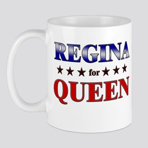 REGINA for queen Mug