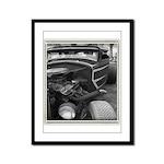 BURN OUT CHAMP Framed Panel Print