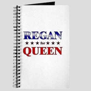 REGAN for queen Journal
