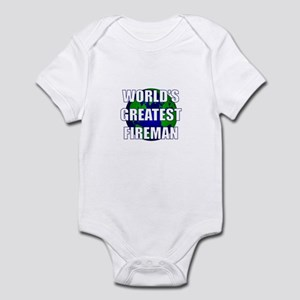 World's Greatest Fireman Infant Bodysuit