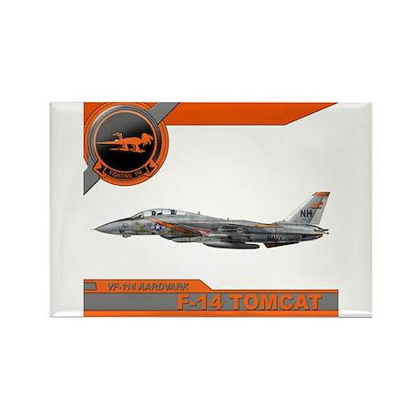 VF-114 Aardvarks Rectangle Magnet