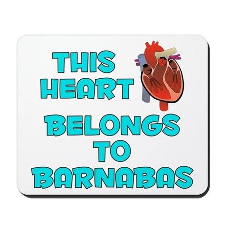 This Heart: Barnabas (B) Mousepad