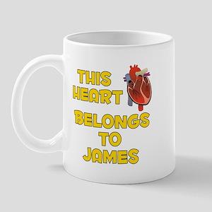 This Heart: James (A) Mug