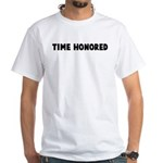 Time honored White T-Shirt